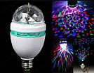 Карнавальная вращающаяся диско лампочка хамелеон Led mini party light lamp гирлянда для праздничный шар, фото 4