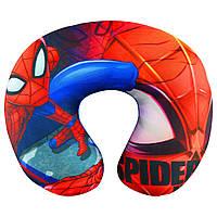 Детская подушка для путешествий Спайдермен, Разноцвет, 30х25
