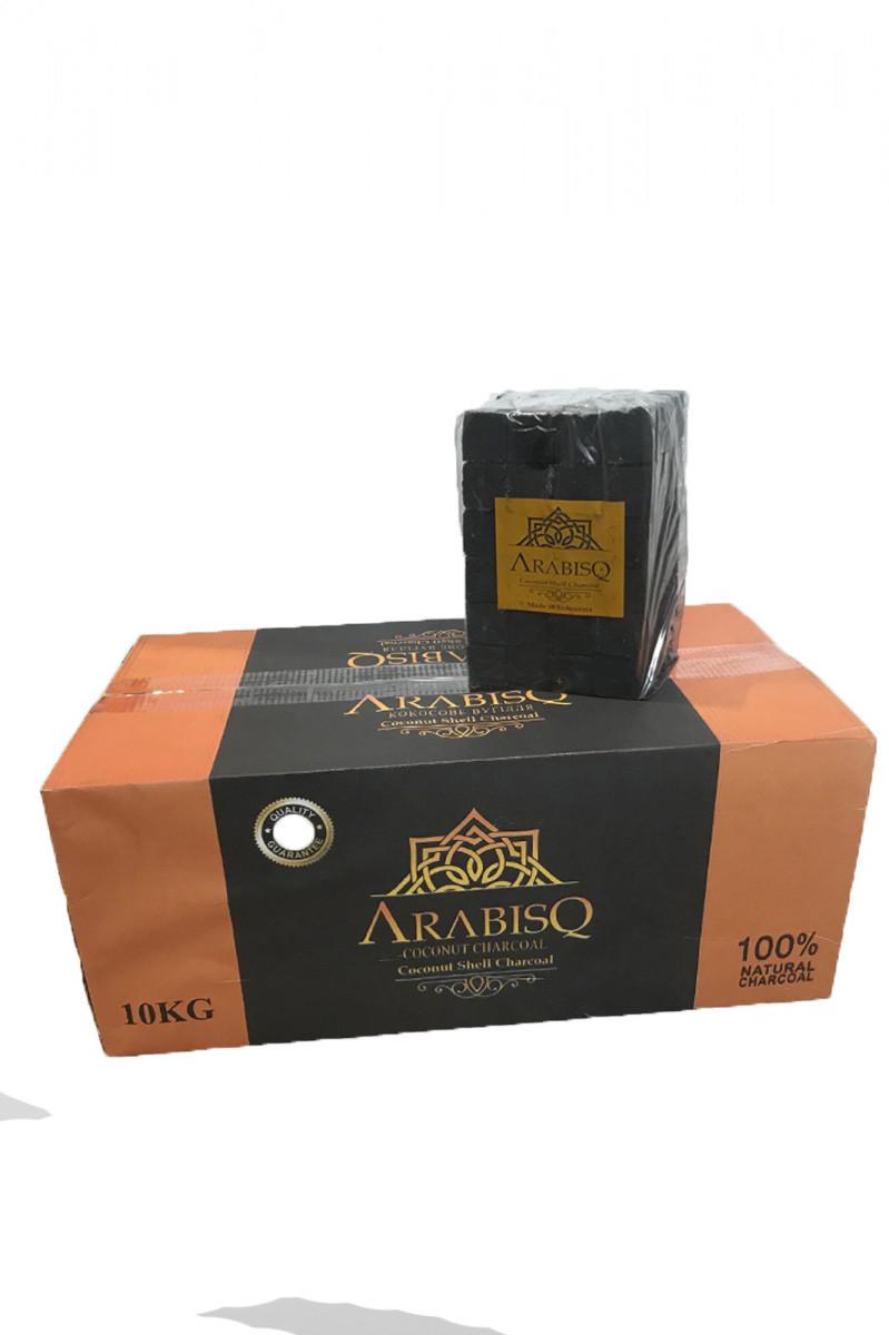 Кокосовый уголь ARABISQ в целофане 10 кг