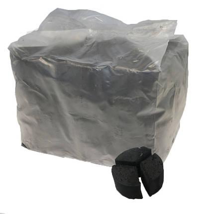 Уголь для кальяна кокосовый TAJ под калауд 10 кг, фото 2