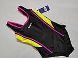 Купальник  слитный для подростков Z.FIVE 96127 Спорт розовый (в наличии  32 34 36 38 40  размеры), фото 3