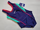 Купальник  слитный для подростков Z.FIVE 96127 Спорт розовый (в наличии  32 34 36 38 40  размеры), фото 4