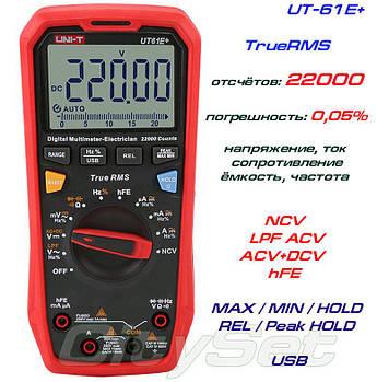 UT61E+, профессиональный прецизионный мультиметр UNI-T