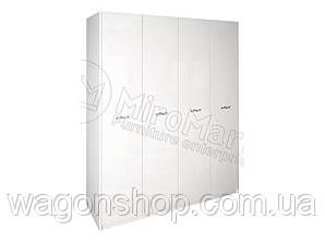 Шкаф 4Д Империя (без зеркал) (МироМарк)