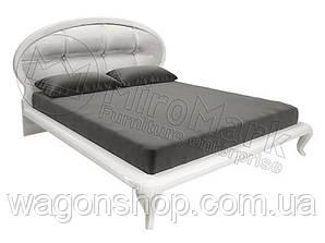 Двуспальная кровать 160 мягкая Империя Miro Mark