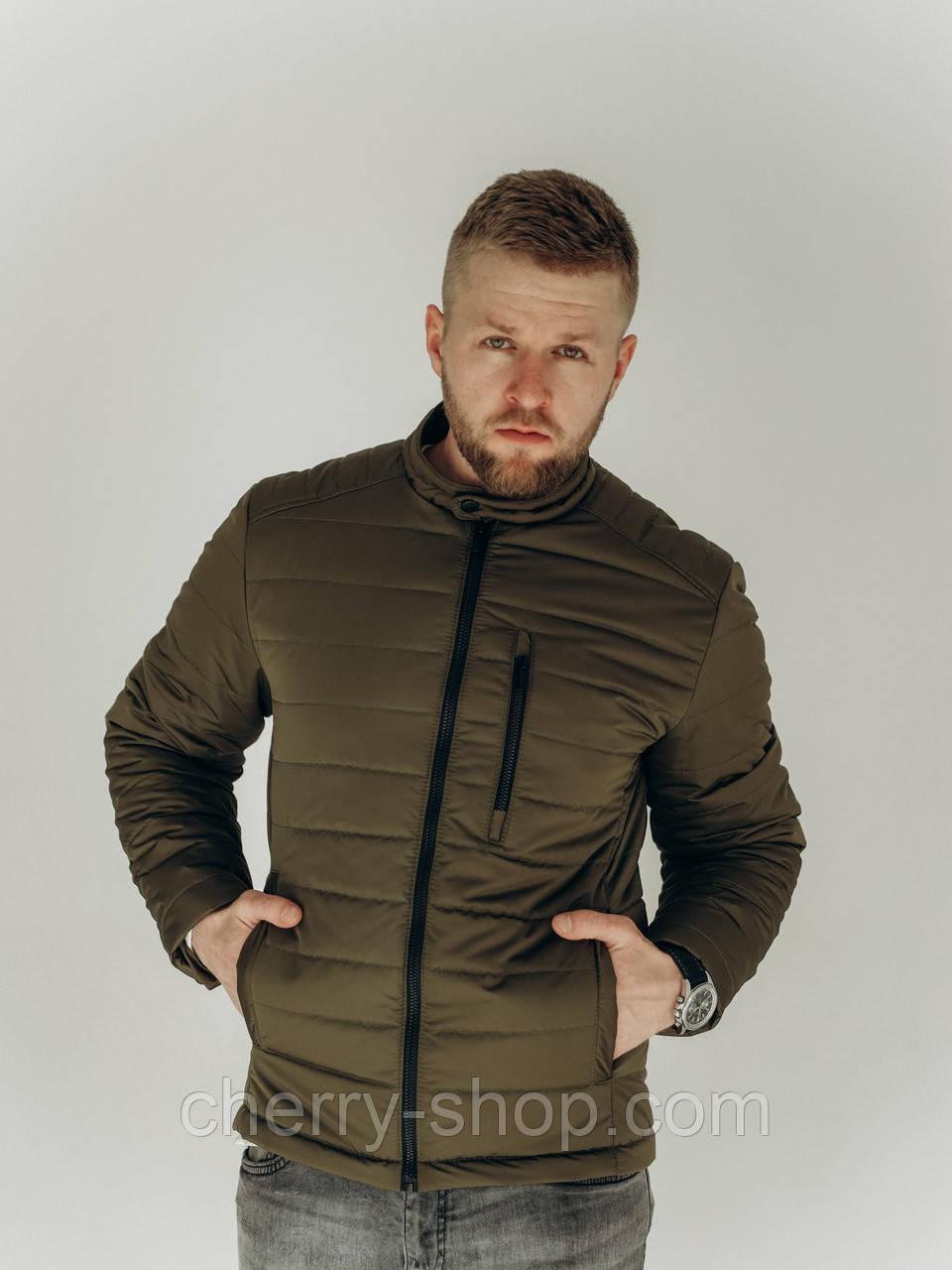 Стьобаний чоловіча куртка на весну, розмір S,M,L,XL,XXL
