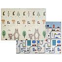 Детский складной термо коврик Mat4baby развивающий Дорога - Лес 1500*2000*6 мм, фото 3