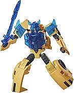 Трансформер Бамблбі Transformers Кибервселенная Клас Винищувачі Оригінал від Hasbrо, фото 2