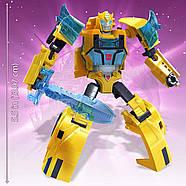 Трансформер Бамблбі Transformers Кибервселенная Клас Винищувачі Оригінал від Hasbrо, фото 8