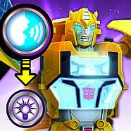 Трансформер Бамблбі Transformers Кибервселенная Клас Винищувачі Оригінал від Hasbrо, фото 9
