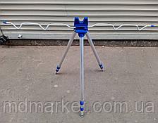 Подставка тренога фидерная на 5 удилищ, 1.2 м (телескопическая)