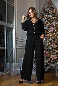Вязаный костюм Нэнси черный