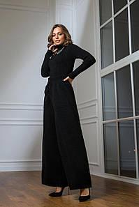 Вязаный костюм Классик черный