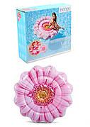 Матрац Intex Рожева квітка 142см