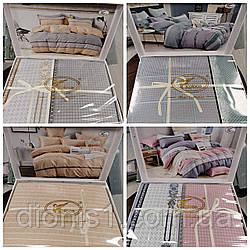 Постельный комплект белья Сатин коробка размер 180*220