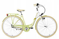 """Жіночий міський велосипед KS Cycling Belluno 28"""" Nexus-3 White-Green Німеччина"""