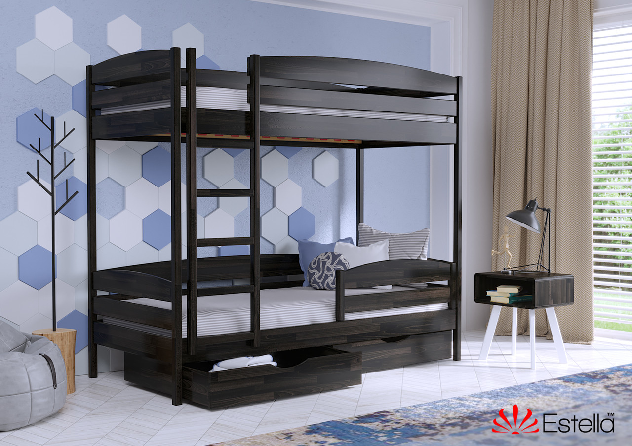 Двухъярусная кровать Дует Плюс 80х190 106 Щит 2Л4