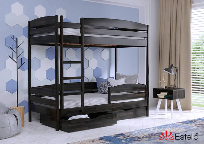 Двухъярусная кровать Дует Плюс 80х190 106 Щит 2Л4, фото 2