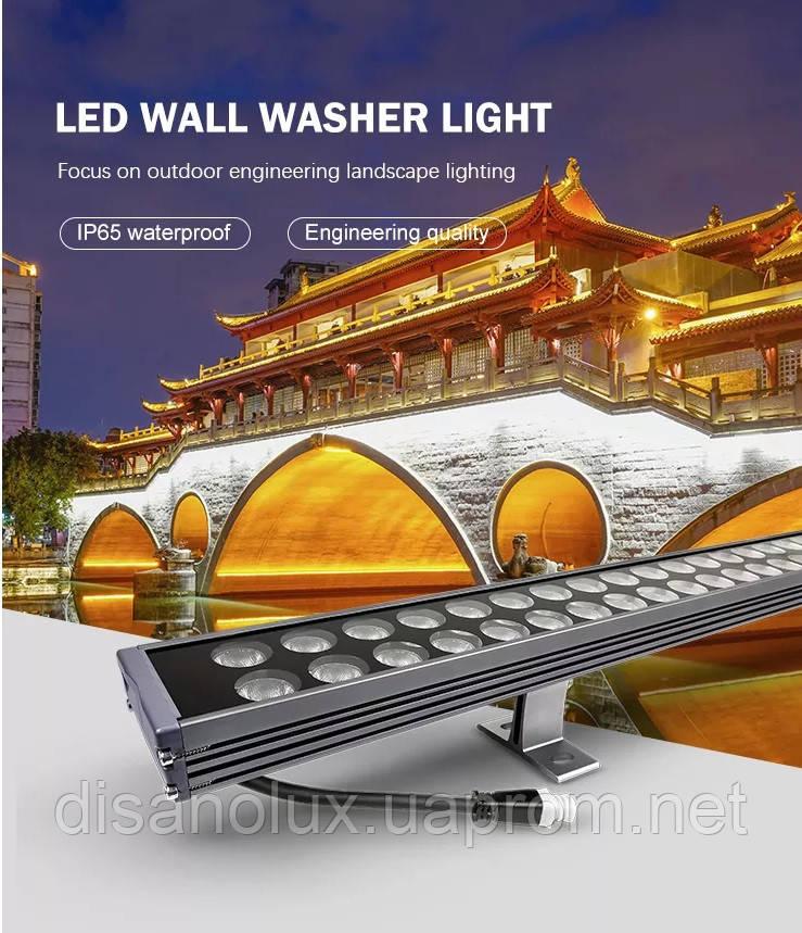 Led лінійний світильник для архітектурного підсвічування RS-WW270W 270W 5500К 220V IP65 180см
