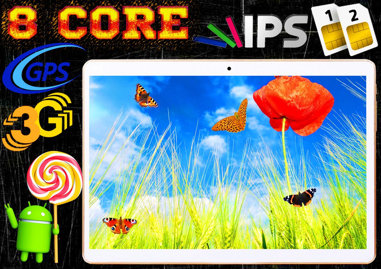 Планшет телефон Самсунг ТАБ 2Sim, GPS,3G,32GB, навигация + ПОДАРОК! Samsung КОРЕЯ! Android 10 черный