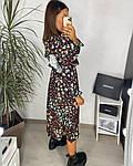 Женское платье, шёлковый софт,  р-р 42-44; 46-48 (чёрный), фото 2