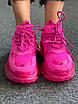 Розовые кроссовки Balenciaga Triple S Clear Sole Pink, фото 4