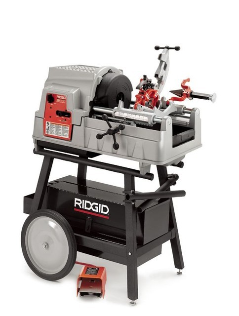 Резьбонарезной станок Ridgid модель 535 (с автоматическим патроном)
