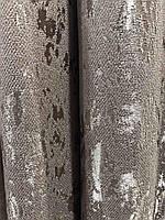 Мраморная шторная ткань на метраж капучино, высота 2,8м (М19-06), фото 4