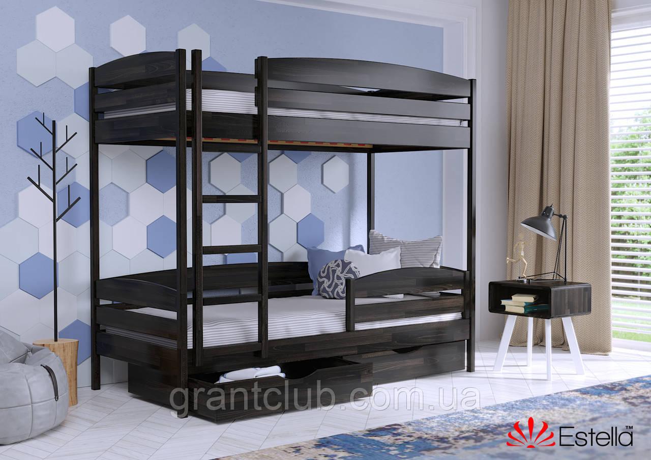 Двоярусне ліжко Дует Плюс 80х190 106 Щит 2Л4