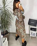 Женское платье, шёлковый софт,  р-р 42-44; 46-48 (хаки), фото 2