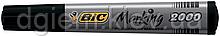Маркер водостойкий BIC 2000 черный