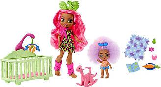 Игровой набор Cave Club Детская комната куклы Фернесса и Фуррах оригинал от Mattel
