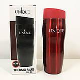Комплект: ланч бокс UNIQUE UN-1521 0,9 л. Колір: рожевий + термокружка UNIQUE UN-1071 0.38 л. Колір: червоний, фото 6