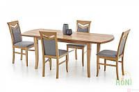 Стол раскладной EMIL 140(180)x80 (дуб крафт) (Halmar), фото 1