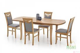 Стол раскладной EMIL 140(180)x80 (дуб крафт) (Halmar)