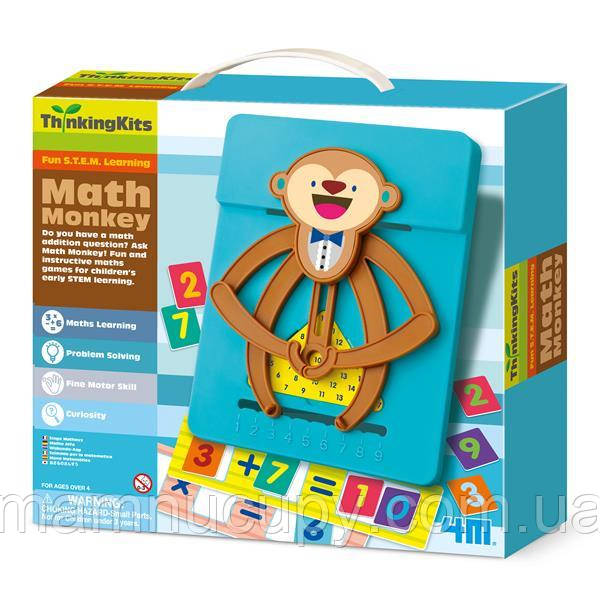 Навчальний набір 4M Мавпочка-математик (00-04674)