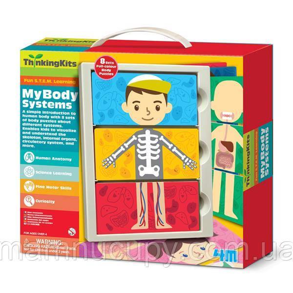 Набір для досліджень 4M Моє тіло (00-04692)