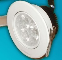 Вбудований світлодіодний світильник 220В 3х1 Вт БІЛИЙ ТЕПЛИЙ