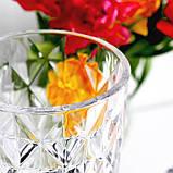 Лимонадница Ромбы на ножке, 3л, пластиковый кран (лимонадник, диспенсер), фото 3