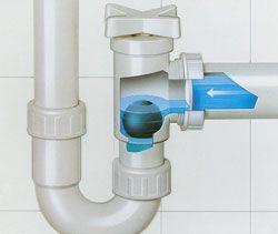 Клапан предотвращения затопления VIEGA 106324