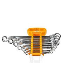 Комплект гайкових ключів накидних зігнутих 6-22 мм INGCO INDUSTRIAL, фото 2