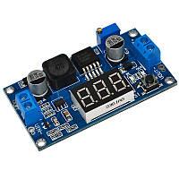 Модуль XL6009-LED регульований підвищуючий перетворювач з вольтметром Uin: 3...32V, Uout: 5...35V