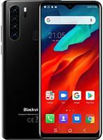 "Смартфон Blackview A80 Plus 4/64Gb Black, 2sim, экран 6.49"" IPS, 8 ядер, 13+2+0.3+0.3\8Мп, 4680mAh, 4G (LTE)"