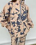Жіночий спортивний костюм, двунить, р-р 42-44; 46-48 (лаванда), фото 2