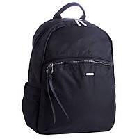 Рюкзак женский городской текстильный David Jones RU-DJ20290 черный