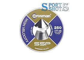 Пули Crosman Leed Free Super Point 0.25г остроголовая 250шт/пчк