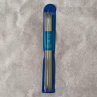 Спицы носочные № 4.5 стальные чулочные Knitting Needles 25 см