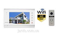 Комплект WiFi AHD 960P відеодомофон Jarvis JS-71MW HD+ WiFi + JS-02S HD+