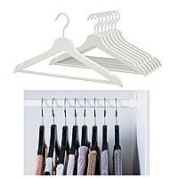 Набор вешалок для одежды IKEA BUMERANG 702.385.41 белый, черный