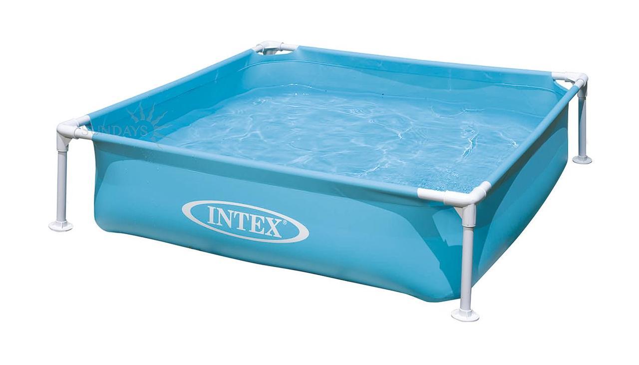 Каркасний дитячий басейн 57173NP Mini Intex